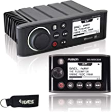 Fusion MS-RA70N Marine Entertainment System with Bluetooth & NMEA 2000 + Fusion MS-NRX300 IPX7 NMEA 2000 Wired Remote