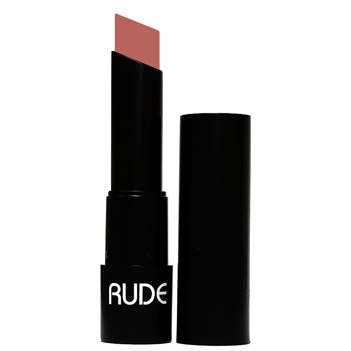 プライバシー少ない艶(3 Pack) RUDE Attitude Matte Lipstick - Temper (並行輸入品)