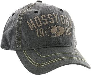 Outdoor Cap Men's Mossy Oak Soft Casual Cap, Gray, One Size
