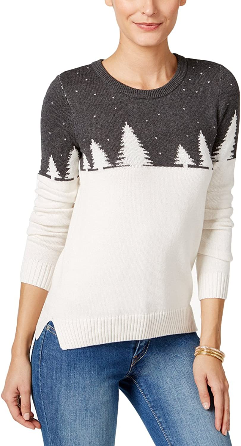 Celebrate Shop Holiday Arcade Women's colorblock Christmas Cotton Sweater