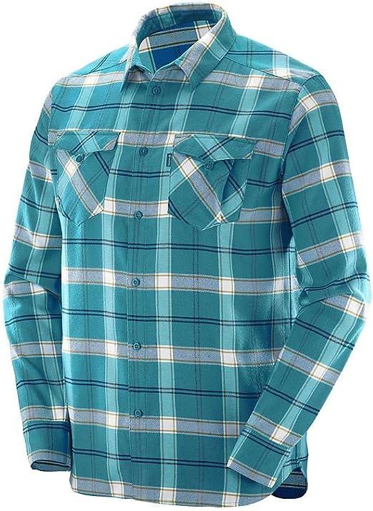 Salomon Ml Boundless Flannel Ls Shirt M Camisa, Hombre ...