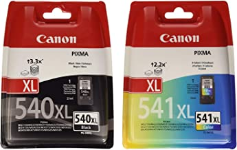 Canon PG-540XL+CL-541XL - Pack 2 Cartuchos de Tinta, 1 Negro y 1 Color