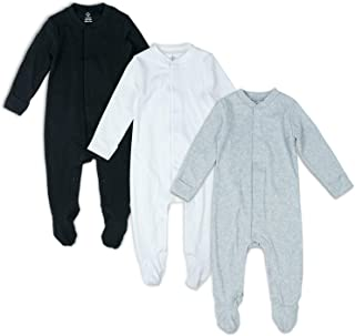 Cat and The Scenery Baby Romper 0-18 Months Newborn Baby Girls Boys Layette Rompers Black