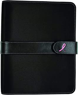 "$52 » Day-Timer Starter Set, Undated, 7 Ring, 5-1/2"" x 8-1/2"", Desk Size, Breast Cancer Awareness Pink Ribbon (48391)"