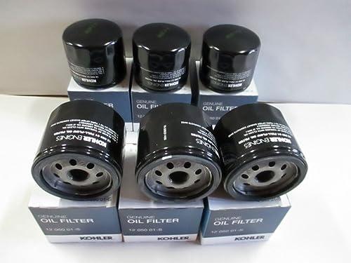 popular KOHLER wholesale 12 050 01-S new arrival Engine Oil Filter For CH18 - CH25 And CV18 - CV25- 6 pack sale