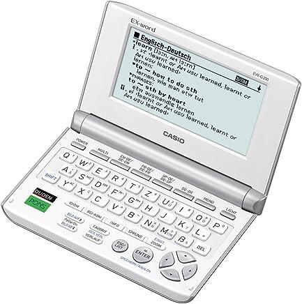 Casio EW-G200 - Diccionario electrónico, blanco
