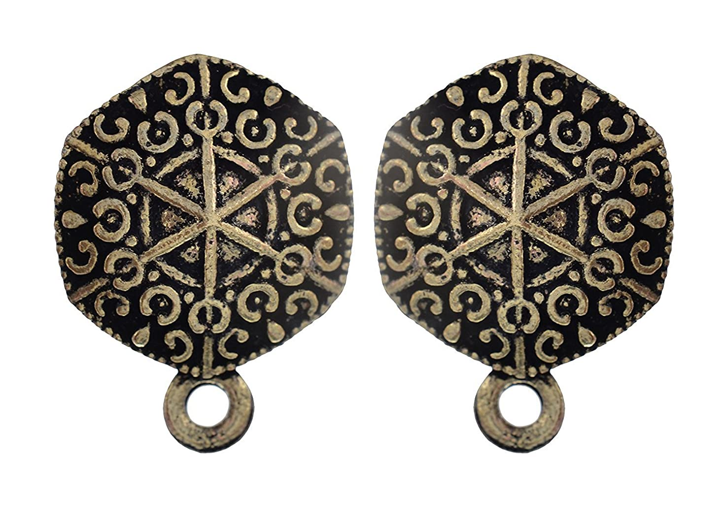 GOELX Antique Studs for Ear-Rings & Jewellery Design 18