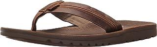 Reef Mens Sandal Voyage Lux | Premium Real Leather Flip...