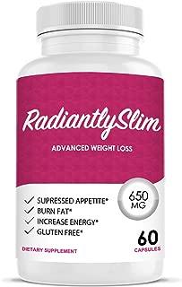 Radiantly Slim Pills for WeightLoss - Advanced Weigh Loss Supplement - Quicker Fat Burn - Carb Blocker
