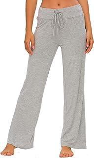 Women's Modal Sleep Bottoms Comfy Pajama Lounge Pants S-4XL