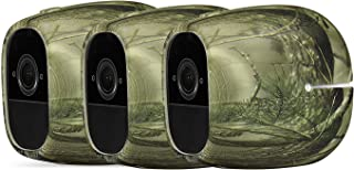 3 x Silicone Skins Compatible with Arlo Pro & Arlo Pro 2 Smart Security - 100% Wire-Free Cameras - by Wasserstein (3 Pack,...