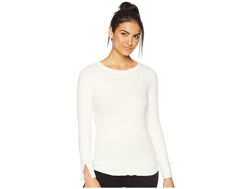 LNA Transit Slub Sweater Long Sleeve (Ivory) Women
