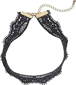 Filigree Crochet Choker Necklace