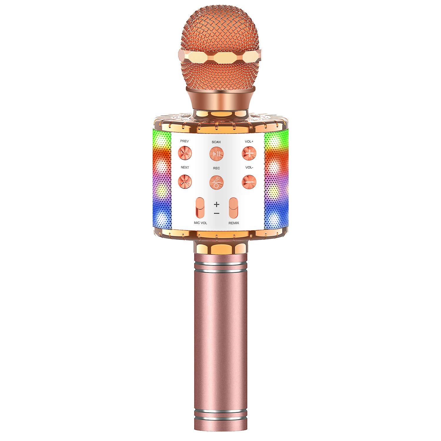 Wireless Bluetooth Microphone Multi color Tesoky