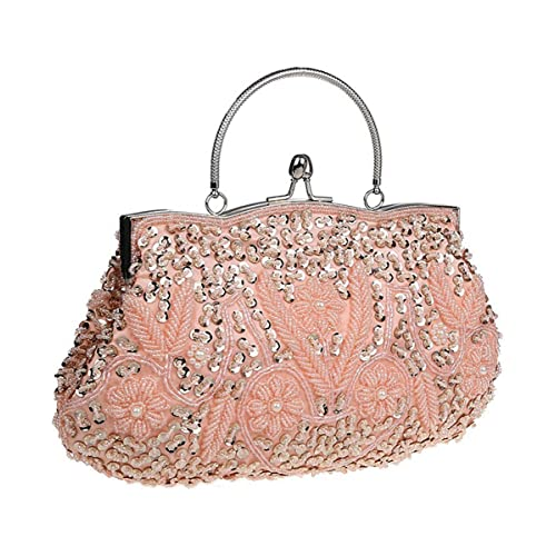 41f8a676915 Pink and Silver Clutches: Amazon.com