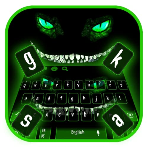 Devil Cheshire Cat Smile Keyboard Theme