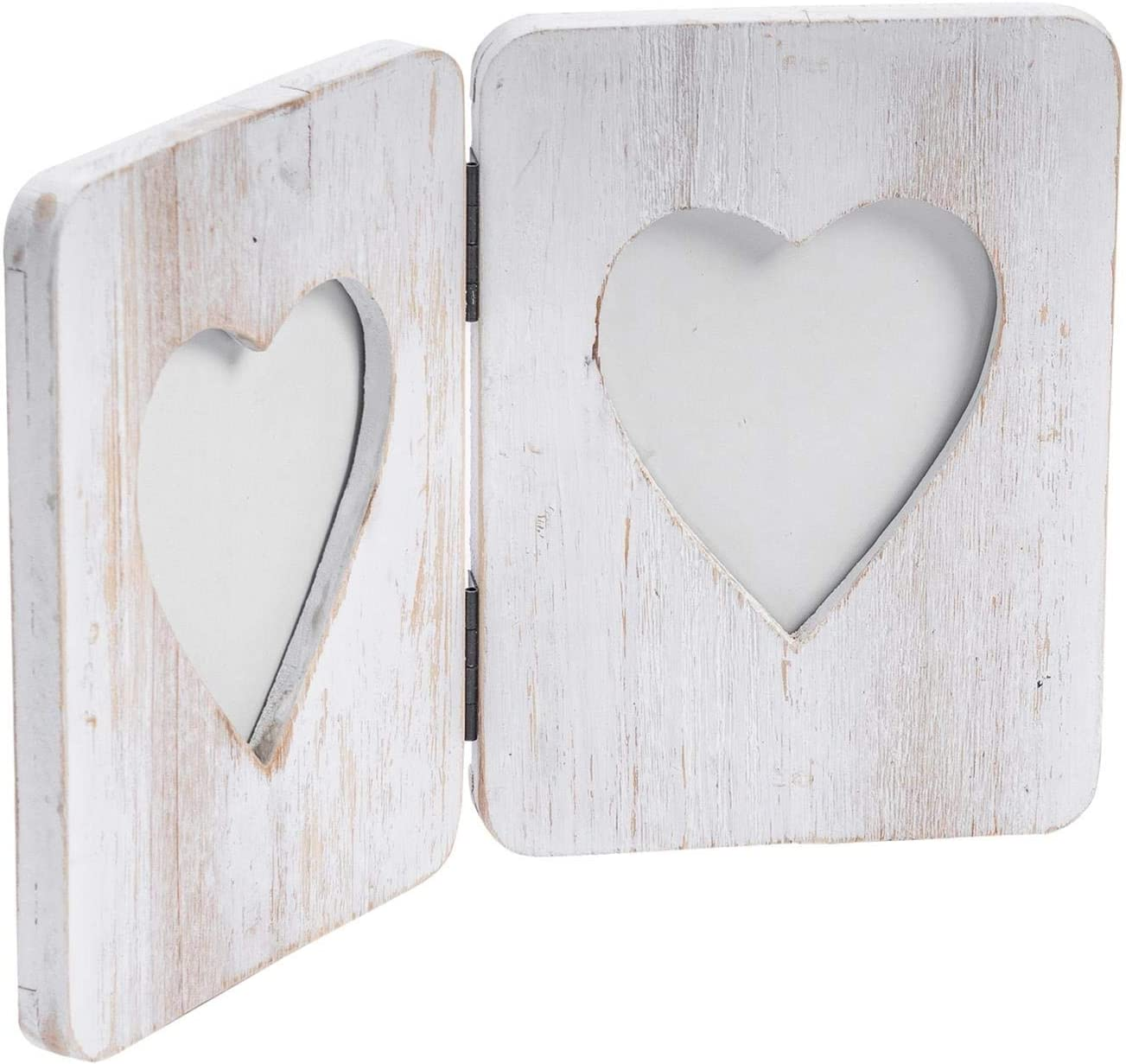 Nicola Spring Double White Max 63% OFF Wooden Picture Freestanding Super beauty product restock quality top Photo Fra