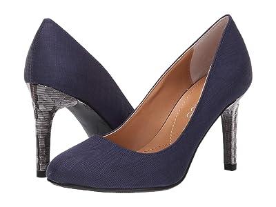 J. Renee Gilana (Navy Faille Fabric) High Heels