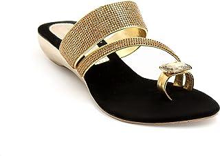 Divain Womens Wedge Fashion Sandal (Md-703)