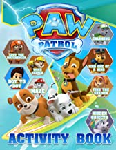 Paw Patrol Activity Book: The Color Wonder Coloring, Spot Differences, One Of A Kind, Find Shadow, Maze, Word Search, Hidd...
