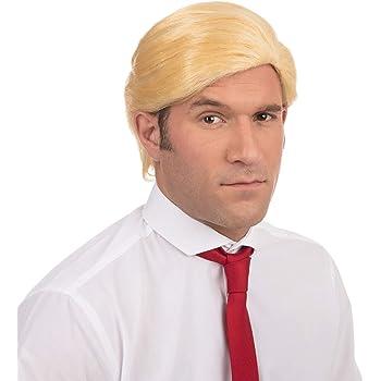 Mr. president Donald Trump Costume wig hair style: Amazon.es ...