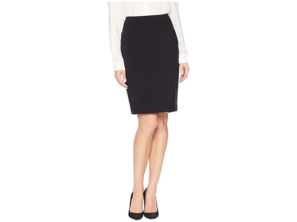 Nine West Stretch Skirt (Black) Women