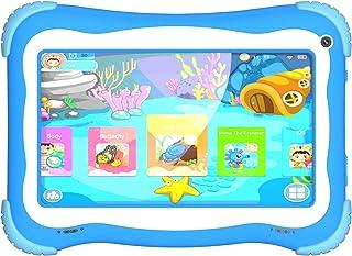 IQ TOUCH Kids Tablet QX570 - Quad core Processor / 1GB Ram / 16GB Storage / 7'' IPS Display/Parental control/Wi-Fi/Front &...