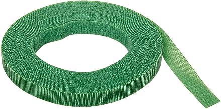 Wolfcraft Klittenband voor het voorzichtig binden van planten binnen en buiten, groen, 3285000