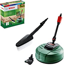 Bosch F016800611 Pressure Washer Home and Car Cleaning Kit (with patio Cleaner, wash Brush and 90 degree nozzle, in Carton...