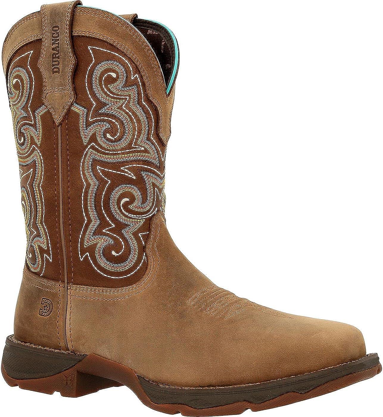 Lady Rebel Work by Durango Composite Toe Western Work Boot