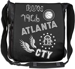 XIVEIER Personalized RUN CTY Atlanta Georgia Basketball Slogan Geek Single Shoulder Pack For Women
