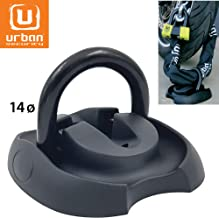 Urban Security Floor / Wall / Ground Anchor security lock - 14 mm D-Ring Diameter