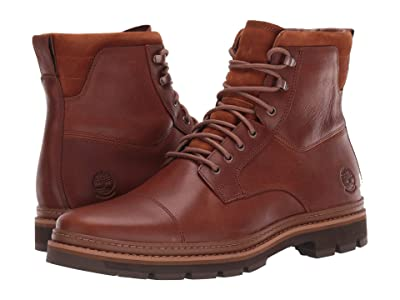 Timberland Port Union Waterproof Insulated Boot (Medium Brown Full-Grain) Men