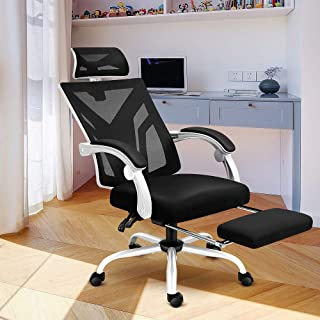CRYfog Desk Chair Office Chair, High Back Home Office Desk Chairs,Lumar Support Most Comfortable Office Chair,Height Adjus...