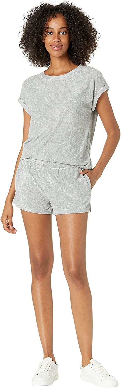 Splendid Baby Girls' Crew Neck T-Shirt and Elastic Shortie Pajama Sleep Set