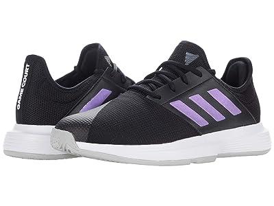 adidas GameCourt (Black/Black/Grey) Women