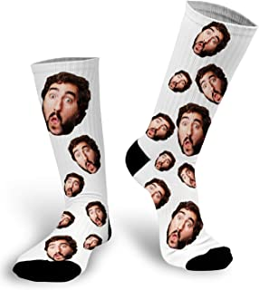 put face on socks