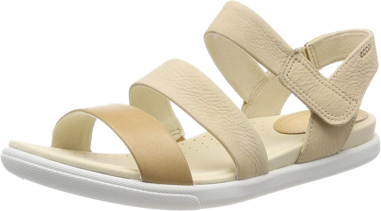 Ecco Damara Sandal Flat Sandal Black