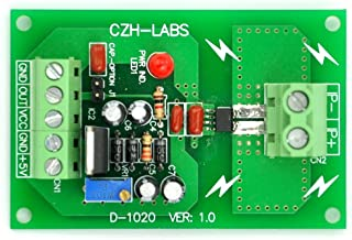 Electronics-Salon Panel Mount AC/DC Current Sensor Module Board, Based on ACS712 (+/-30Amp)