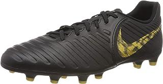 897728-008 Nike JR Tiempo Legend VII 7 FG Soccer Cleats Black Laser Orange