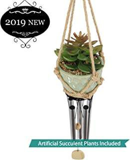 Astarin Amazing Grace Wind Chimes Outdoor,Artificial Plants Wind Chimes for People Who Like Their Neighbors,Unique Home Décor for Xmas,Patio,Porch,Balcony.