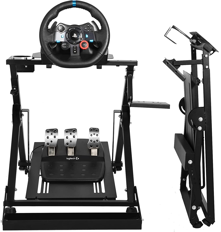 Minneer お得 Steering Racing Wheel Stand Gaming For Chair 全商品オープニング価格 Fit Fixing