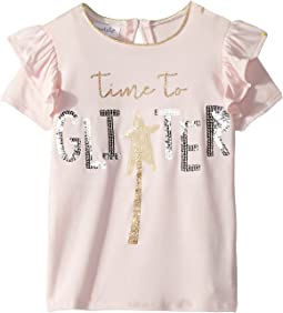 Mud Pie - Glitter Sequin Short Sleeve Tee (Infant/Toddler)
