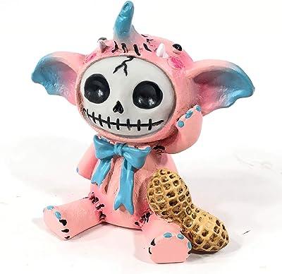 Exclusive Furrybones Pink Elephant Skeleton Figurine - Halloween Collectible