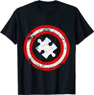 Captain Autism Superhero T-Shirt - Autism Awareness Shirts