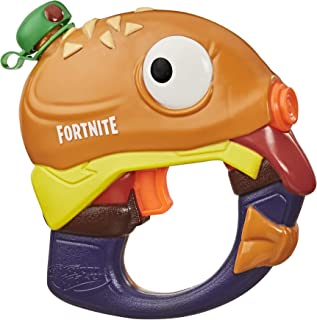 Nerf Super Soaker Fortnite Beef Boss Water Blaster - Fortnite Beef Boss Character Design - Easy-to-Carry Micro Size - for Kids, Youth, Adults