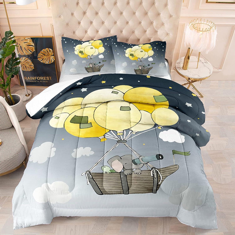 Cartoon Balloon Bedding Ranking TOP6 overseas Comforter Sets Night Sky Size Star Queen