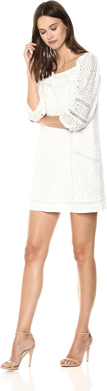 Adelyn Rae Womens Standard Charmaine Lace Shift Dress