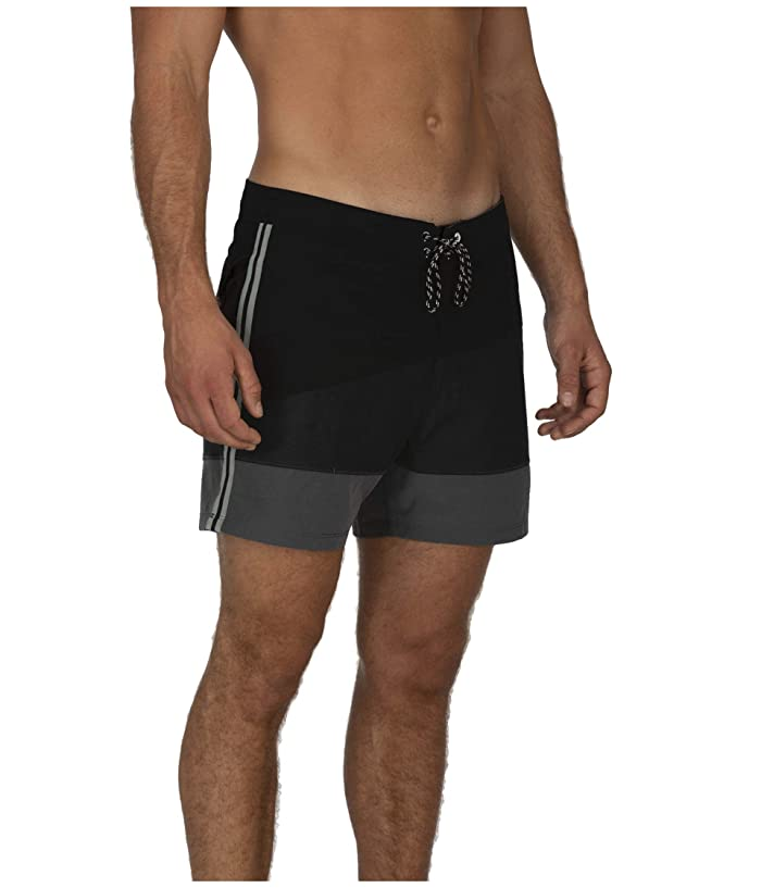 Hurley  16 Session Bungalow Boardshorts (Black) Mens Swimwear