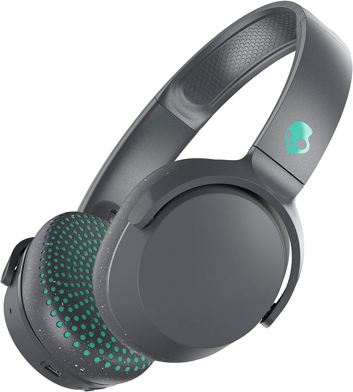 Daily bargain sale Skullcandy Riff Wireless Milwaukee Mall On-Ear Headphone - Gray Speck Teal Grey